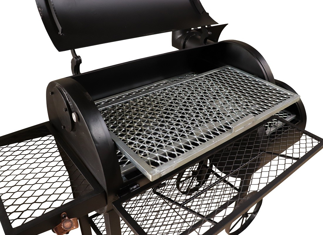 Pitsmoker Double Flow (Fluxo Direto + Fluxo Reverso) 800 - Defumador para American Barbecue - Arizona Smoke & BBQ