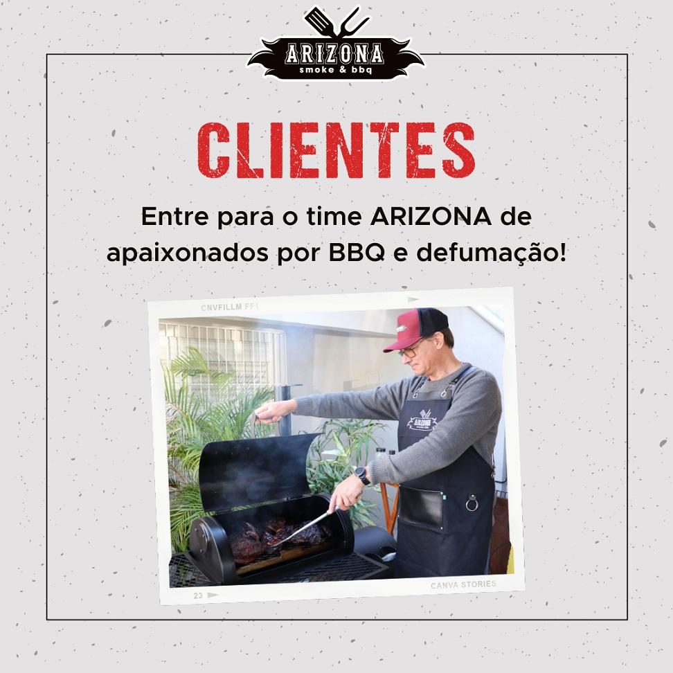 Pitsmoker Vertical 1.200 para Churrasco e Defumação American BBQ - Arizona Smoke & BBQ