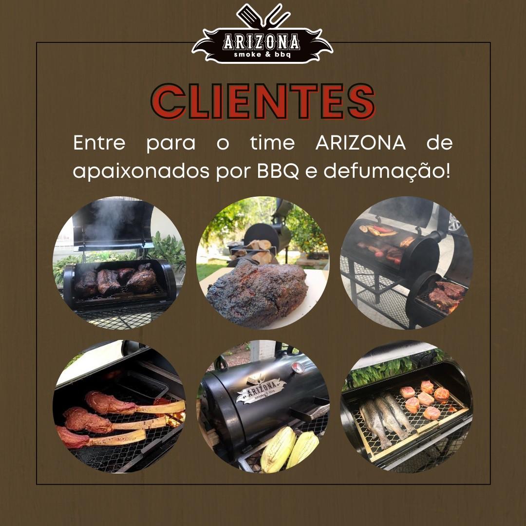 Pitsmoker Vertical  900 para Churrasco e Defumação American BBQ - Arizona Smoke & BBQ