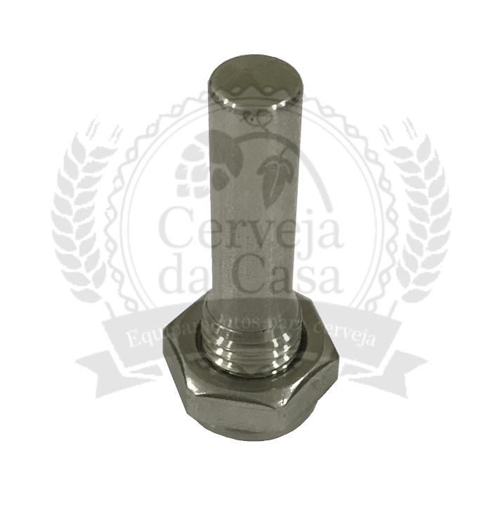Poço Termométrico em Inox 45mm  - Cerveja da Casa