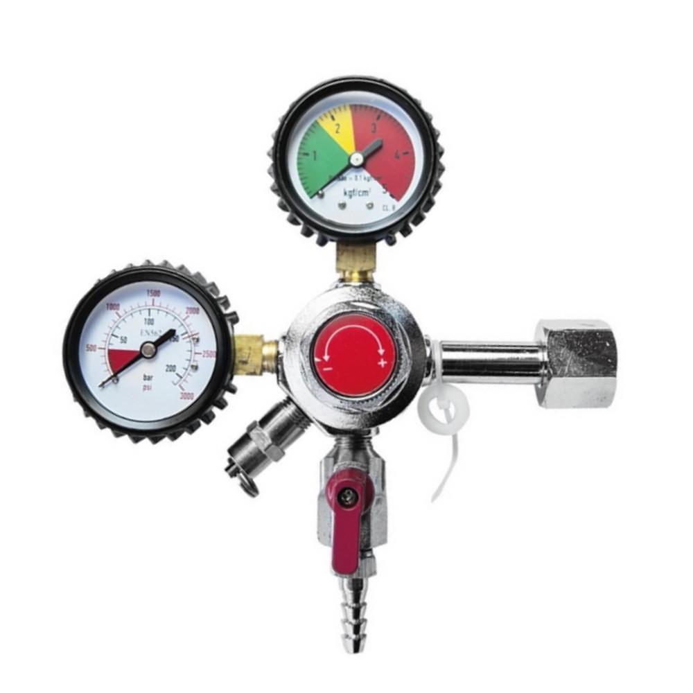 Regulador de Pressão para Gás CO2 - Saída Simples