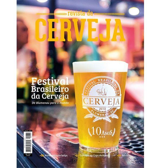 REVISTA DA CERVEJA - EDIÇÃO #34 - MAIO / JUNHO 2018  - Cerveja da Casa