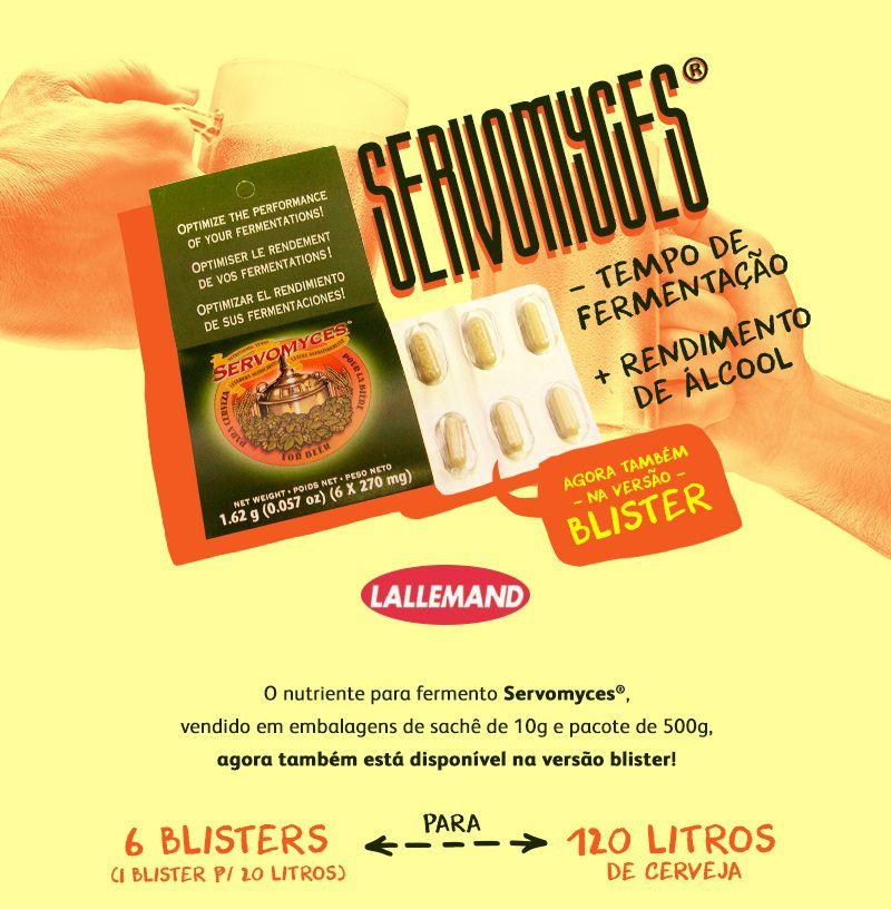 Servomyces - Nutriente para Levedura  - Cerveja da Casa