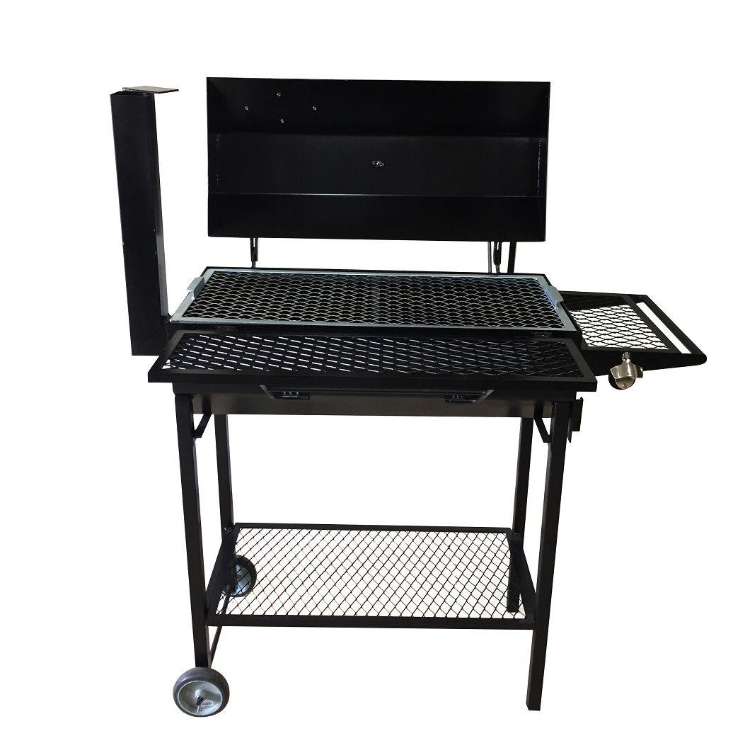 Smoker Grill Capacidade 10kg - Churrasqueira para Assar, Grelhar, Defumar - Arizona Smoke & BBQ