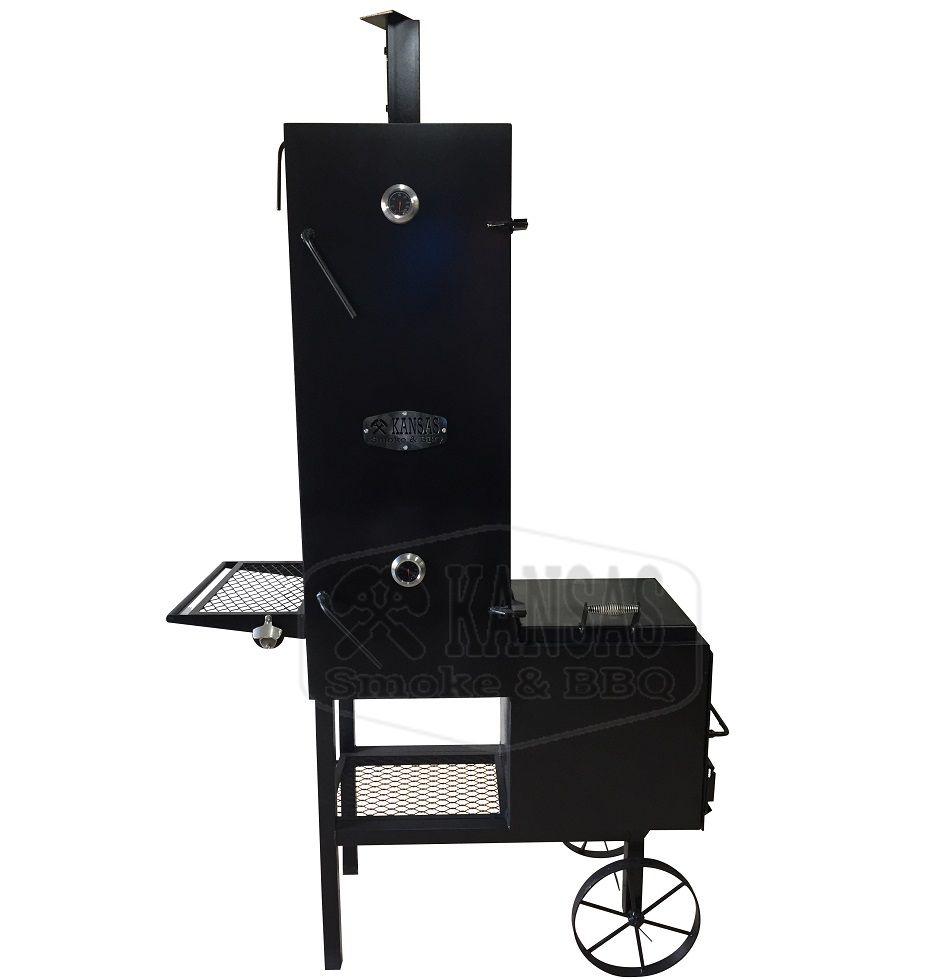 Smoker Vertical 1.200 - Kansas Smoke & BBQ  - Cerveja da Casa