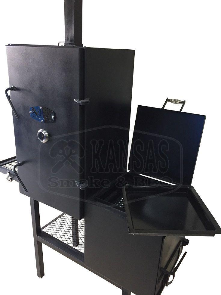 Smoker Vertical  900 - Kansas Smoke & BBQ  - Cerveja da Casa