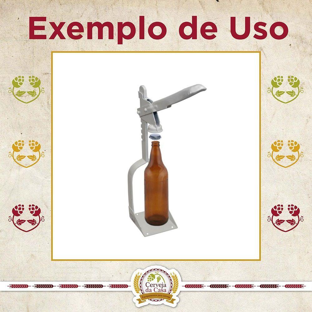 Tampador / Arrolhador de Garrafas Tradicional  - Cerveja da Casa