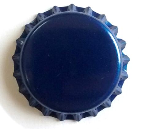 Tampinha para Garrafa - Cor Azul  - Cerveja da Casa