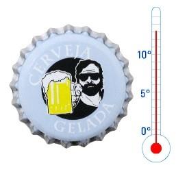 Tampinha para Garrafa - Cerveja Gelada (térmica)  - Cerveja da Casa