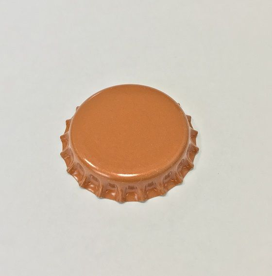 Tampinha para Garrafa - Cor Laranja  - Cerveja da Casa