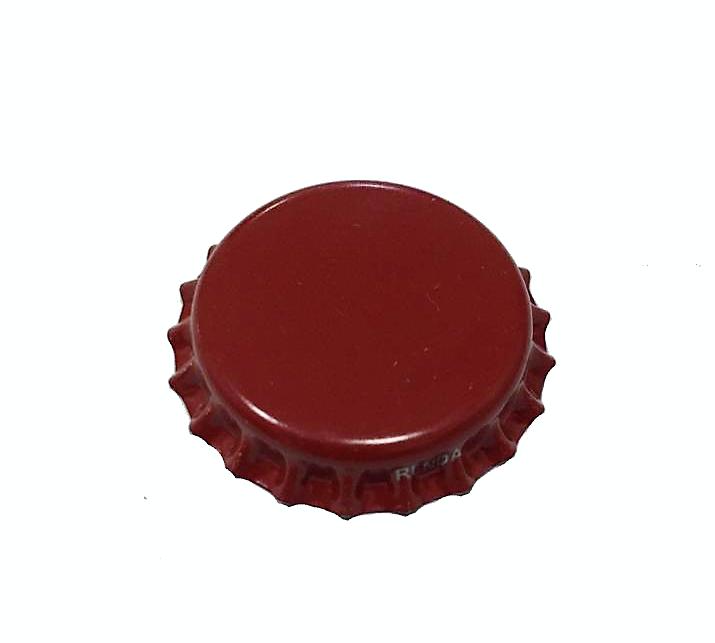 Tampinha para Garrafa - Cor Vermelho Bordô