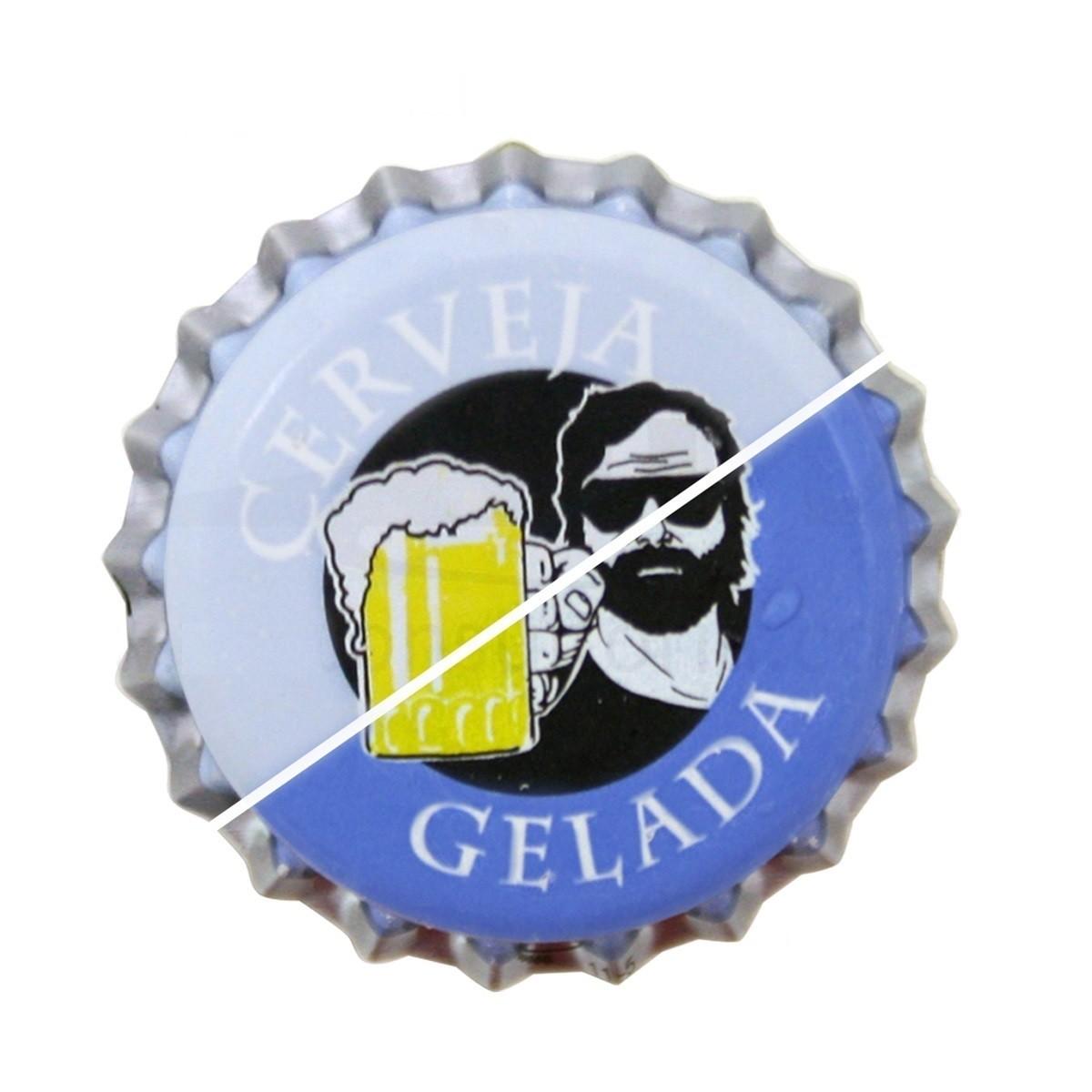 Tampinha para Garrafa - Cerveja Gelada (térmica)