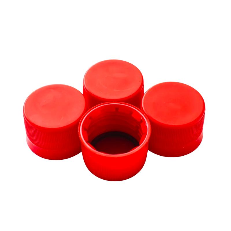 Tampinha Plástica para Garrafa / Growler Pet -  Vermelha