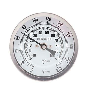 Termômetro Analógico em Inox para Caldeirão