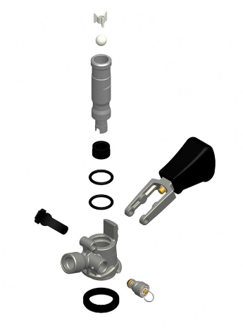 Válvula Extratora Tipo S TOFF (Importada)  - Cerveja da Casa