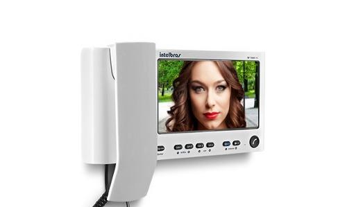 Módulo Interno Adicional Com Monofone Para Vídeo Porteiro IV 7000/7010 - IV 7000 HS IN - Intelbras