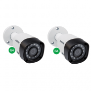 Kit CFTV 2 Câmeras Multi HD HDCVI 1 Mega 3.6mm 30m VHD 3130 B G4 Intelbras
