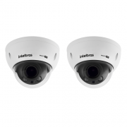 Kit CFTV 2 Câmeras Multi HD HDCVI 2 Megas Varifocal 30m VHD 3230 D VF G4 Intelbras