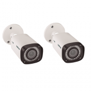 Kit CFTV 2 Câmeras Multi HD HDCVI 1 Mega Varifocal 40m VHD 3140 VF G4 Intelbras
