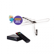 Kit Antena de TV Digital AE 4010 + 1 Conversor Digital CD 730 Intelbras