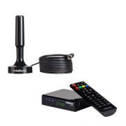 Kit Antena De TV Digital AI 2031 + 1 Conversor Digital CD 730 Intelbras