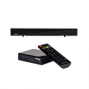Kit Antena De TV Digital AI 3100 + 1 Conversor Digital CD 730 Intelbras