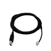 Cabo Conversor USB Para Programar de Centrais de Alarmes JFL