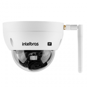 Câmera IP Sem Fio Wi-Fi Full HD 30m 2.8mm IK10 VIP 3230 D W Intelbras