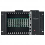 Central Telefônica Pabx Híbrida de Rack com 24 Ramais IMPACTA 300 Intelbras