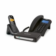 Central Telefônica Sem Fio 2 Linhas e 7 Ramais MiniCom Slim Intelbras