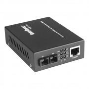 Conversor De Mídia Fast Monomodo 20 Km Intelbras KFS 1120