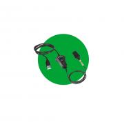 Cordão Conversor QD/USB Com Cordão 1,5m QDU 25 Intelbras