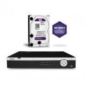 Kit DVR 32 Ch Full HD HDCVI 3132 M + HD 1TB Purple Intelbras