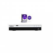 Dvr Stand Alone 4 Canais Multi HD MHDX 3004 + HD 1TB Western - Intelbras