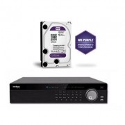 Kit Gravador Nvr 32 Ch NVD 7032 + HD 1TB Purple Intelbras