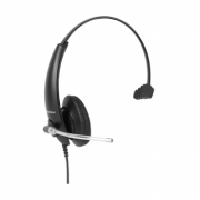 Kit Headset Corporativo THS 50 + Cordão RJ9 QDI 10 Intelbras