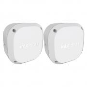 Kit 2 Caixas de Passagem Plástica Câmeras Bullet/Dome Externo VBOX 1100 E Intelbras