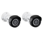 Kit 2 Câmeras IP 1 Megapixel 2.6mm 20m VIP 1020 B Intelbras