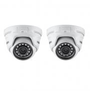 Kit 2 Câmeras IP 2 Megapixels 2.8mm 20m VIP 1220 D G3 Intelbras