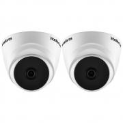 Kit 2 Câmeras Multi HD 2 Megapixels 2.8mm 20m VHD 1220 D G6 Intelbras