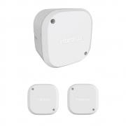 Kit 3 Caixas de Passagem Plástica Câmeras Bullet/Dome Interno VBOX 1100 Intelbras
