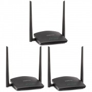 Kit 3 Roteador Wireless 2.4 GHz 300 Mbps RF 301 K Intelbras