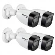 Kit 4 Câmeras Multi HD 1 Megapixel 2.8mm 20m VHD 1120 B G6 Intelbras