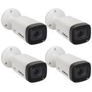 Kit 4 Câmeras Multi HD 1 Mega Varifocal 40m VHD 3140 VF G5 Intelbras