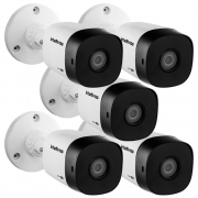 Kit 5 Câmeras Multi HD 2 Megapixels 3.6mm 20m VHD 1220 B G6 Intelbras