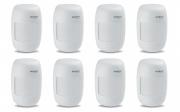 Kit 8 Sensores Alarme Passivo Com Fio IVP 3000 CF Intelbras