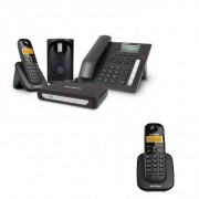 Kit Central Telefônica Sem Fio MiniCom Plus + 1 Ramal Intelbras