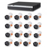 Kit Cftv Dvr Stand Alone Full HD 16 Canais Multi Hd Intelbras
