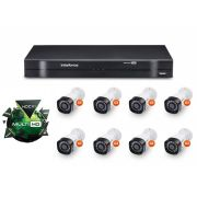 Kit CFTV DVR Stand Alone com 8 Câmeras G3 Multi HD Intelbras