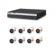 Kit Cftv Dvr Stand Alone Full HD 8 Canais Multi Hd Intelbras